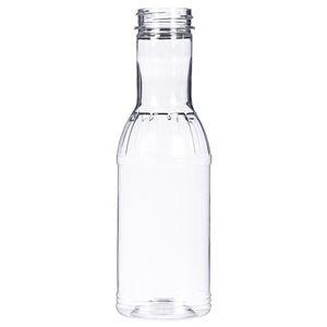 12 oz Clear PET Bottle 38-400 Neck Finish-Front View