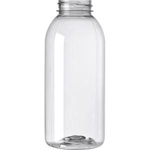 12 oz Clear PET Bullet Bottle 38 mm Neck Finish-Front View