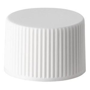 20-410 White PP Continuous Thread Closure, F217 Foam Liner